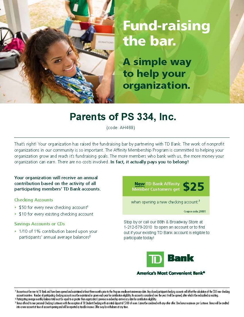 TD Bank Affinity Program